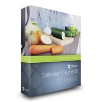 volume 56 – food 3d model