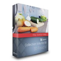 3D Food III – CGAxis Collection Volume 56 VRay