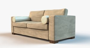 lounge sofa 3d obj