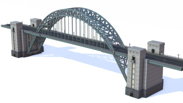 tyne bridge 3d model