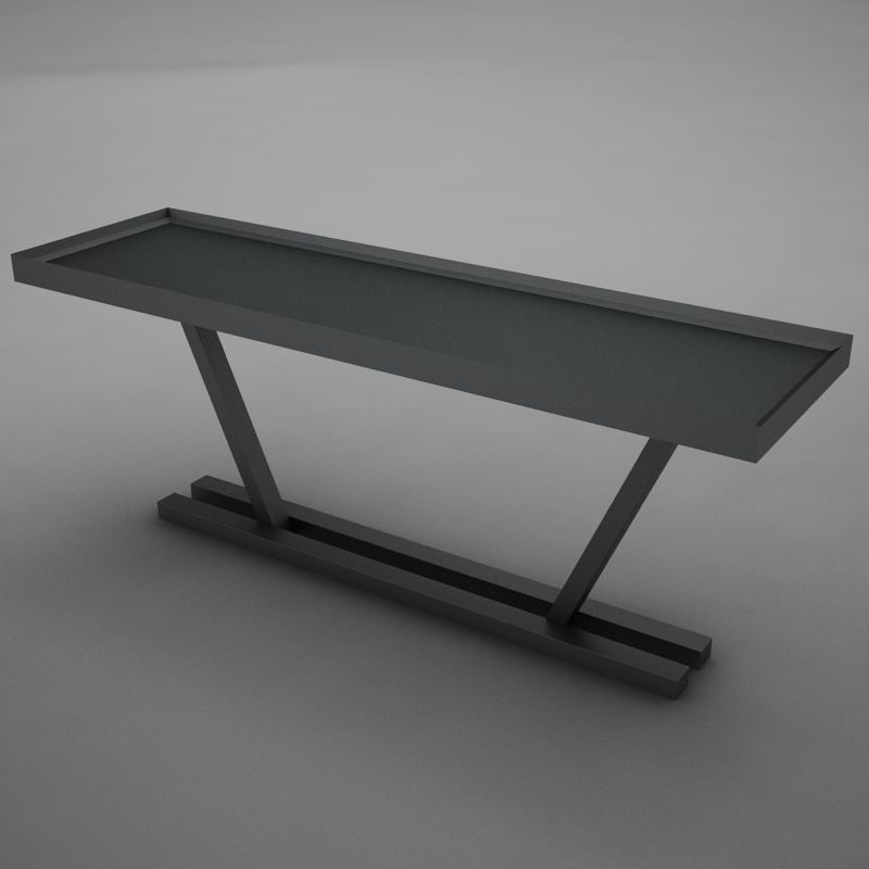 3ds max dining room buffet table
