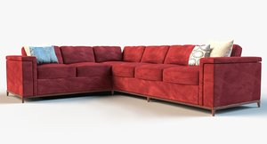 lounge sofa obj