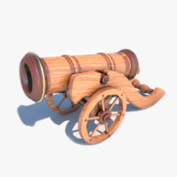 3ds max decorative cannon