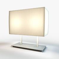 3d model designer lamp