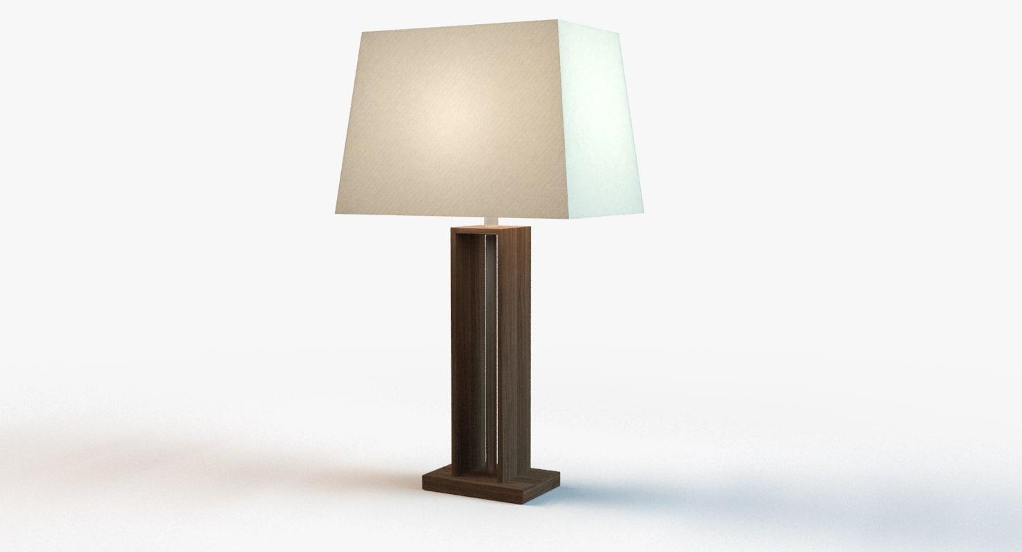 3d model designer light