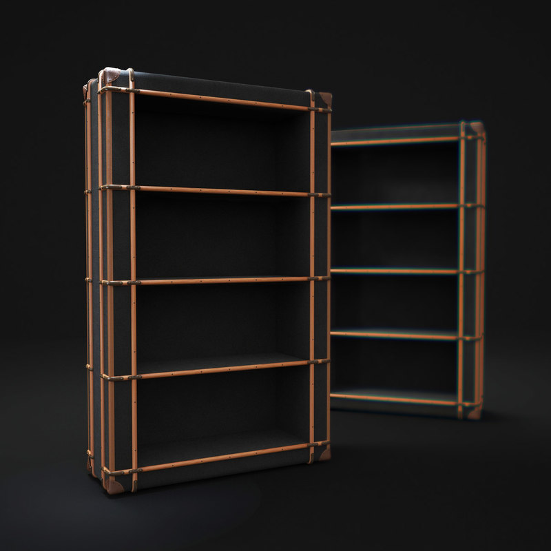 richards -trunk-single-shelving obj