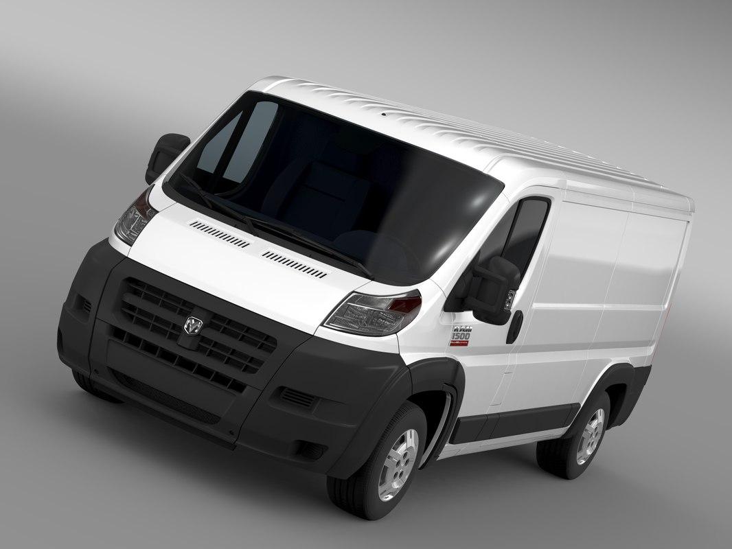 max ram promaster cargo 1500