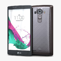3d model of lg g4 dual grey