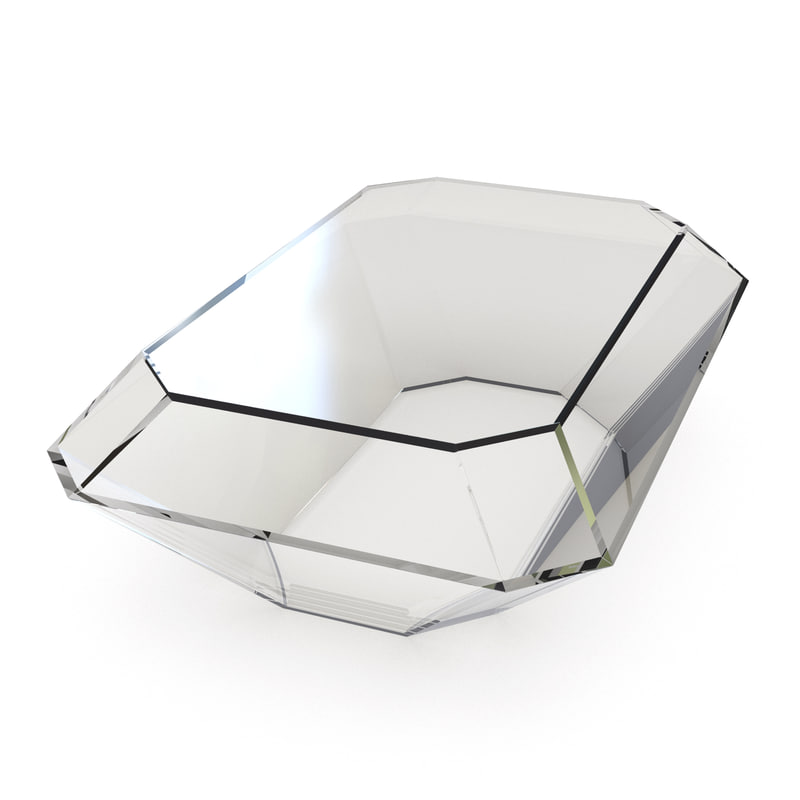 3ds max bullet acrylic coffee table
