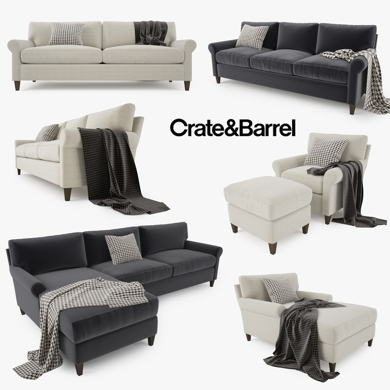 crate sofa barrel montclair max