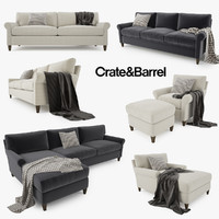 Crate and Barrel Montclair Sofa Collection