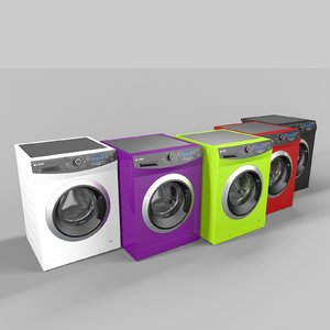 3ds max arcelik inlove series washing machine
