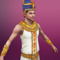 pharaoh 3d model