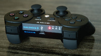 3d playstation controller dualshock model