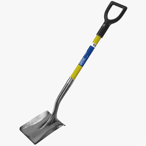 3d shovel 2 model