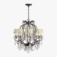 adrianna small chandelier 3d max