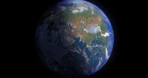 16k earth 3d model