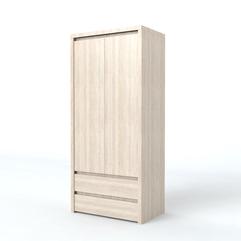 cupboard kaspian 3d model