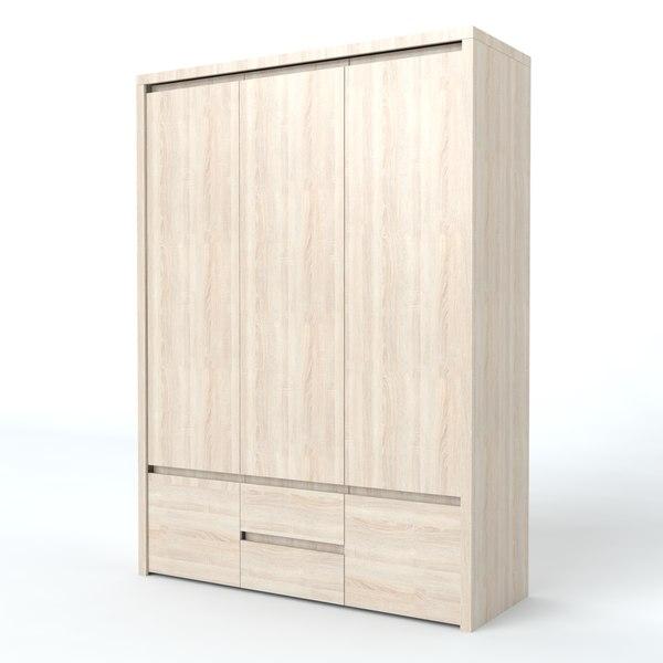 3d wardrobe kaspian