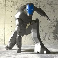 3d model ironman