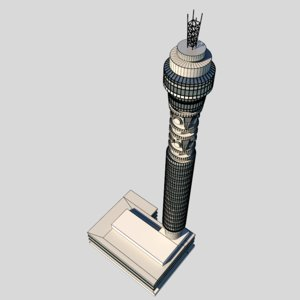 medium london tower 3d 3ds