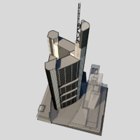 3d tower bank