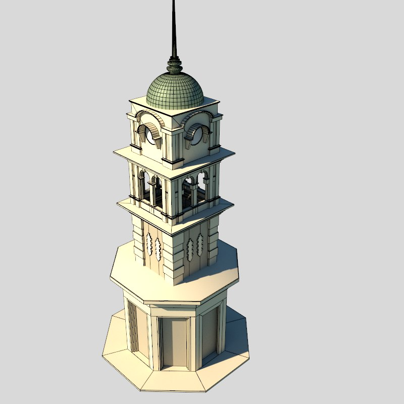 colonial clock tower 3ds free