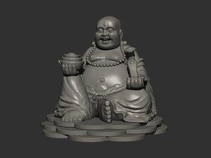 sangkajai buddha 3d obj
