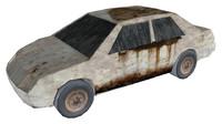 maya rusty car