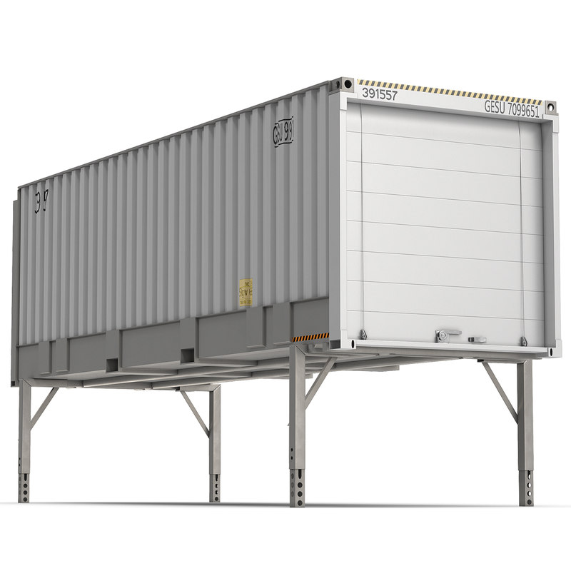 3d swap body container iso model