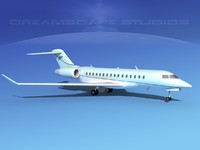 obj global express bombardier 8000