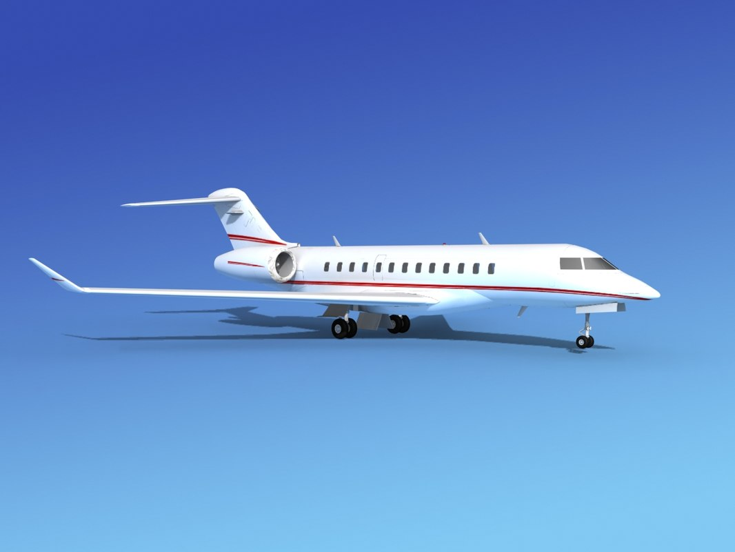 max turbines bombardier global express