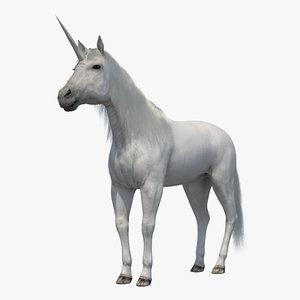 unicorn fur modeled ma