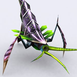 insectoid - 3d 3ds