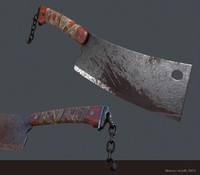 maya butcher knife pbr
