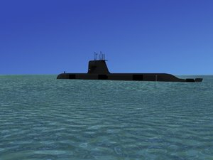 subs collins class submarines 3d 3ds