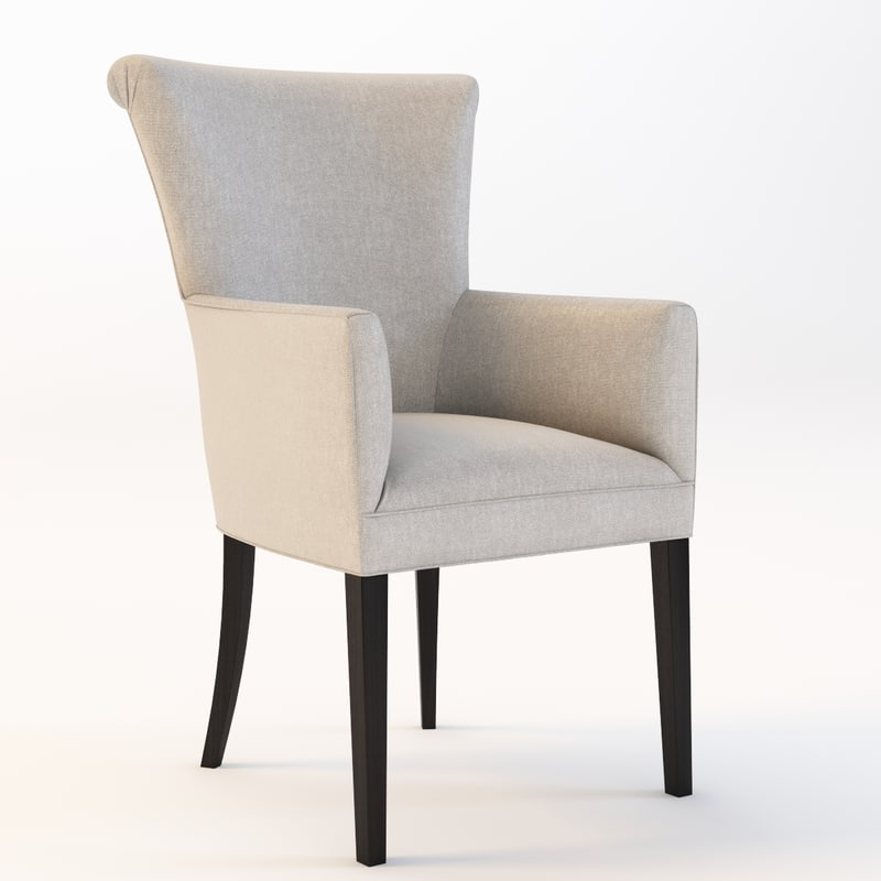 bolier classic armchair 3d model