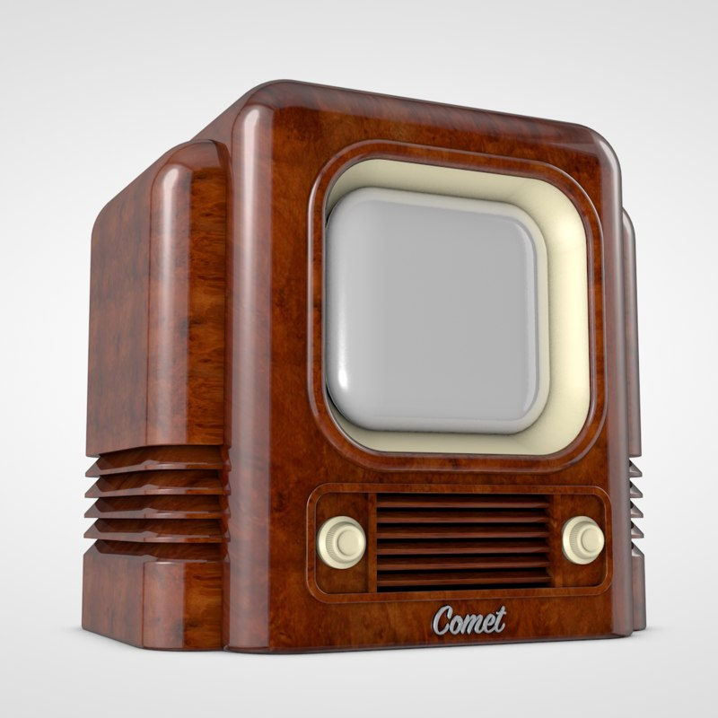 cinema4d retro tv concept