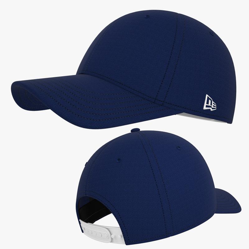 3dsmax baseball cap