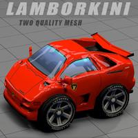Lamborghini Diablo toon car