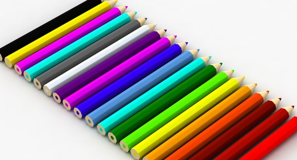 free max model color pencils set
