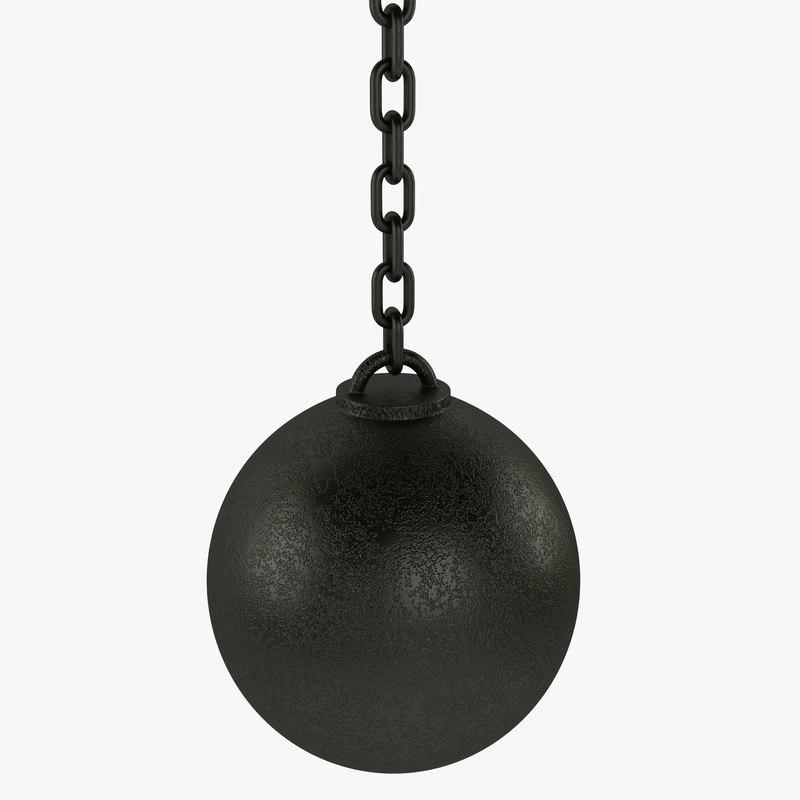 ball wreck 3d max