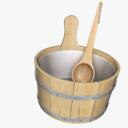 bucket 3D models
