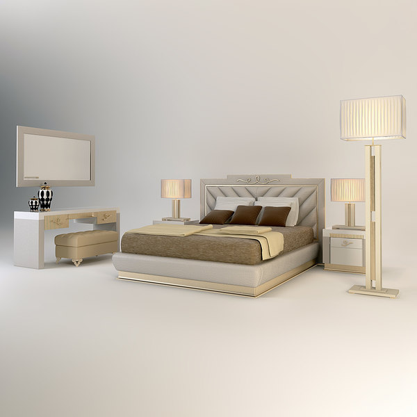 3d florence collections bedroom atlantique model