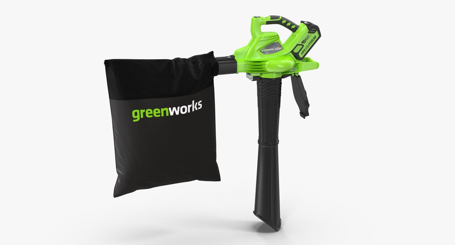 leaf blower vacuum digipro 3d max