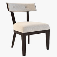 domicile crescent chair 3d model