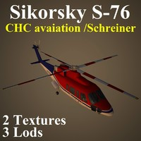 sikorsky chc 3d model