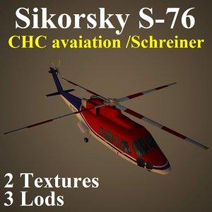 sikorsky chc 3d model