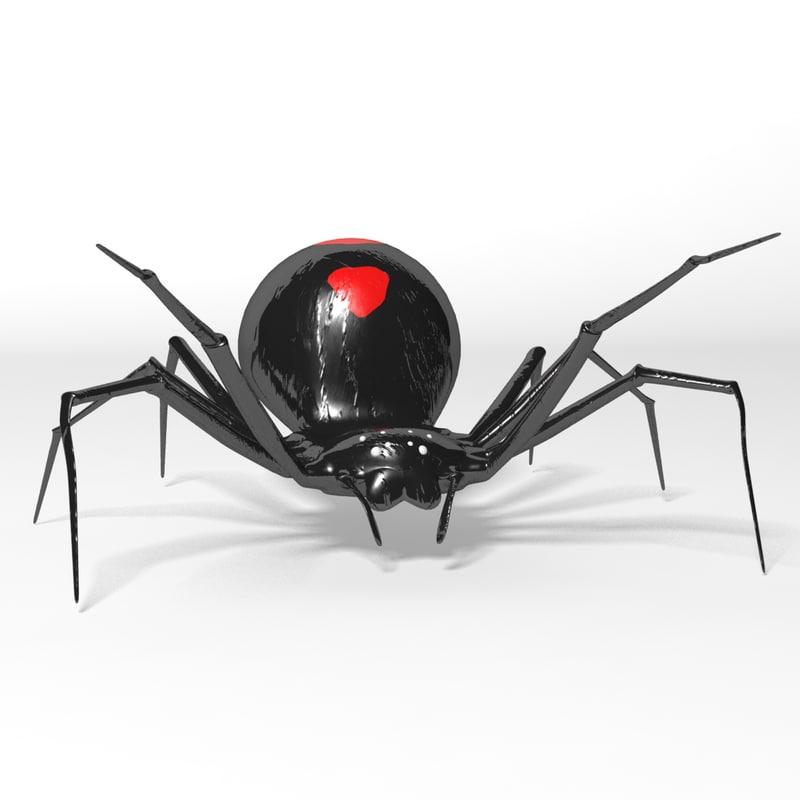 max spider black widow