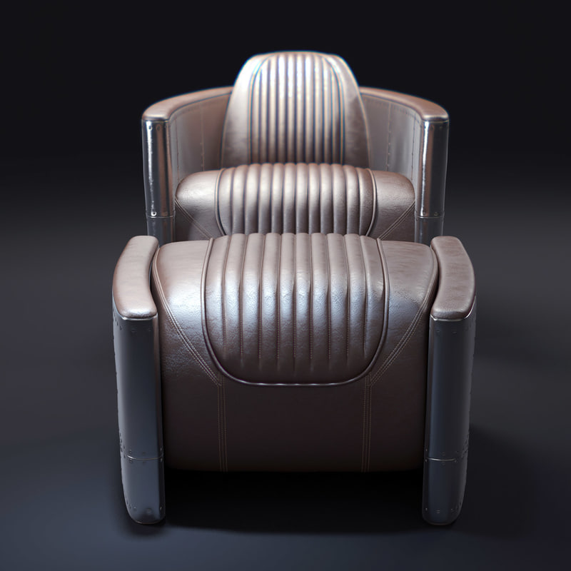 aviator-chaira 3d model